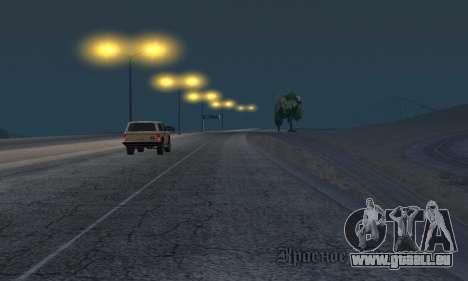 Les lumières de San Fierro, Las Venturas pour GTA San Andreas sixième écran