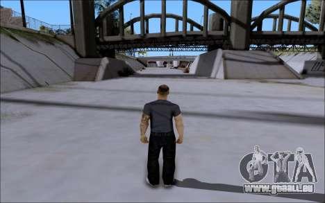 La Cosa Nostra Skin Pack pour GTA San Andreas deuxième écran