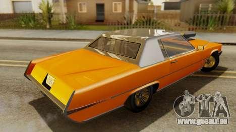 GTA 5 Albany Manana für GTA San Andreas zurück linke Ansicht
