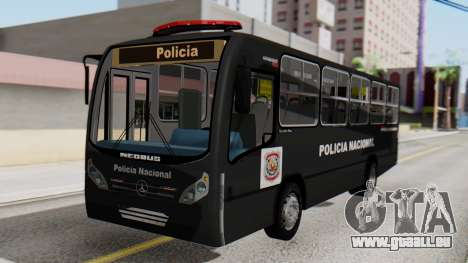 Mercedes-Benz Neobus Paraguay National Police für GTA San Andreas