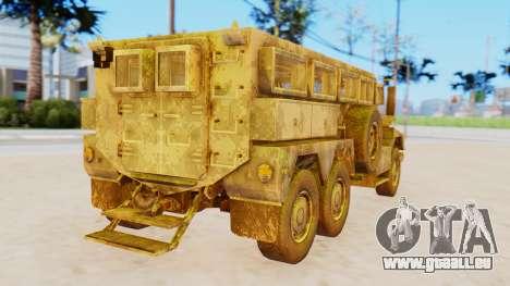 MRAP Cougar from CoD Black Ops 2 für GTA San Andreas linke Ansicht