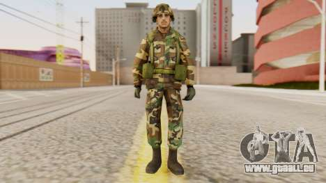 Les soldats de l'armée AMÉRICAINE pour GTA San Andreas deuxième écran
