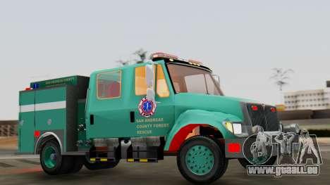 SACFR International Type 3 Rescue Engine pour GTA San Andreas vue de droite