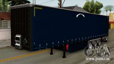 Trailer Krone Profiliner v2 für GTA San Andreas