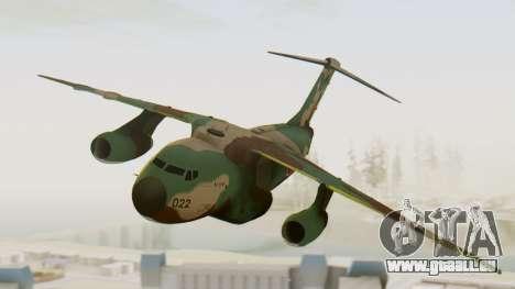 Kawasaki C-1A pour GTA San Andreas sur la vue arrière gauche