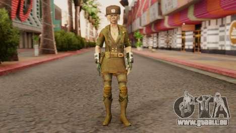 Sonya Motherland [MKX] für GTA San Andreas zweiten Screenshot
