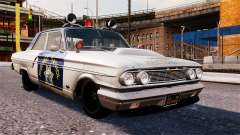 Ford Fairlane 1964 Police