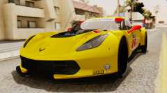 Chevrolet Corvette C7R GTE 2014 PJ2 für GTA San Andreas