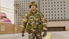 Les soldats de l'armée AMÉRICAINE