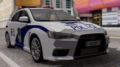 Mitsubishi Lancer Evo X Chinese Police
