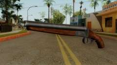 Original HD Sawnoff Shotgun für GTA San Andreas