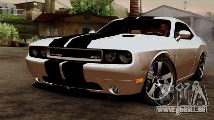 Dodge Challenger SRT8 392 2012 Stock Version 1.0 pour GTA San Andreas