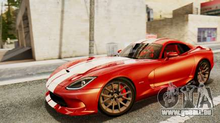 Dodge Viper SRT GTS 2013 IVF (MQ PJ) HQ Dirt pour GTA San Andreas