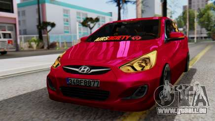 Hyundai Accent Blue pour GTA San Andreas