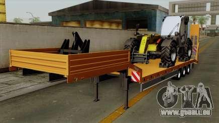 Trailer Fliegl Cargo pour GTA San Andreas