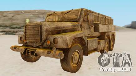 MRAP Cougar from CoD Black Ops 2 für GTA San Andreas