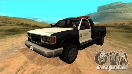 New Yosemite Police v2 für GTA San Andreas