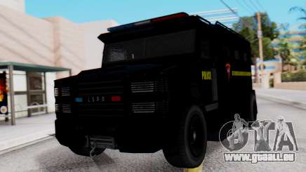GTA 5 Enforcer Indonesian Police Type 1 für GTA San Andreas
