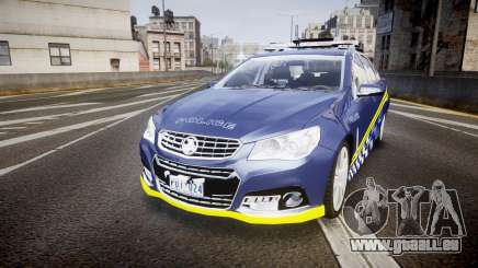 Holden VF Commodore SS Highway Patrol [ELS] v2.0 für GTA 4