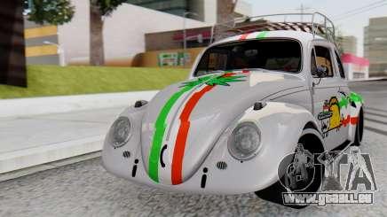 Volkswagen Beetle Vocho Nyan Cat V Mexicano pour GTA San Andreas