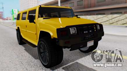 GTA 5 Patriot pour GTA San Andreas