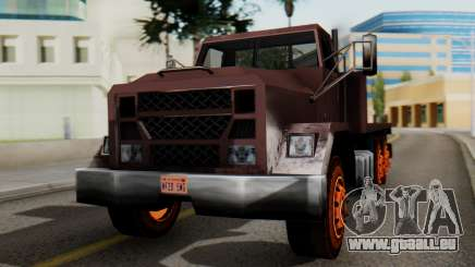 Flatbed 1.0 pour GTA San Andreas