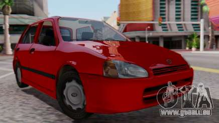 Toyota Starlet 5P 1.3L 1998 pour GTA San Andreas