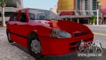 Toyota Starlet 5P 1.3L 1998 pour GTA San Andreas