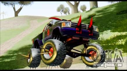 Predaceptor Monster Truck (Saints Row GOOH) pour GTA San Andreas