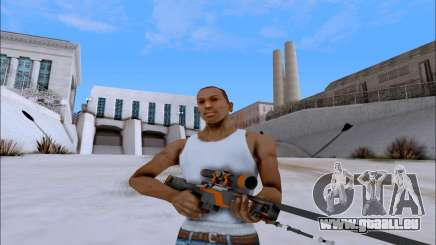 AWP Carbone Edition pour GTA San Andreas