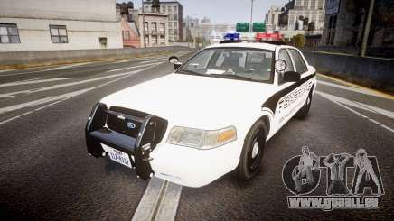 Ford Crown Victoria 2008 New Alderney Sheriff für GTA 4