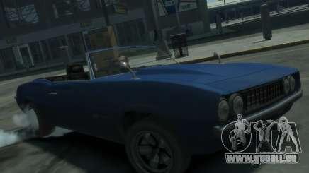 Declasse Vigero Cabrio für GTA 4