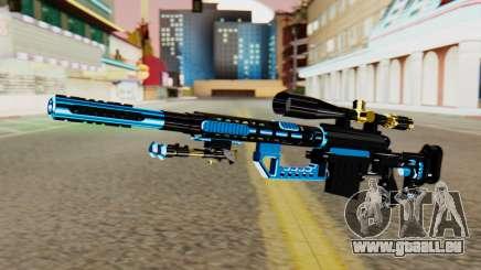 Fulmicotone Sniper Rifle für GTA San Andreas