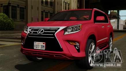 Lexus GX460 2014 v2 pour GTA San Andreas