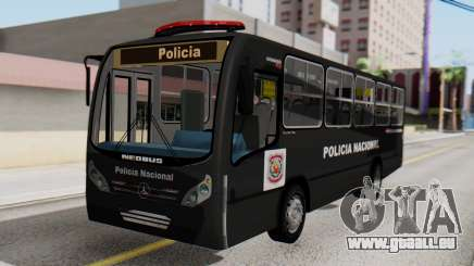Mercedes-Benz Neobus Paraguay National Police pour GTA San Andreas