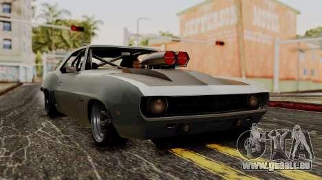Chevrolet Camaro Drag Street pour GTA San Andreas