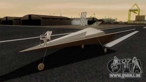 Avion en papier pour GTA San Andreas