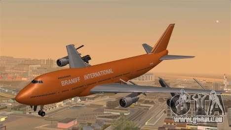 Boeing 747 Braniff für GTA San Andreas