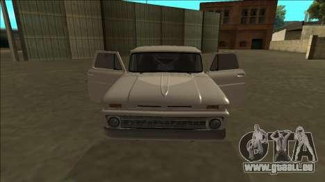 Chevrolet C10 Drift pour GTA San Andreas vue de côté