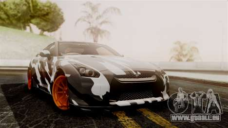 Nissan GT-R für GTA San Andreas