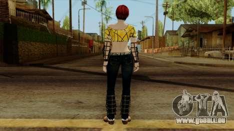 Dead Or Alive 5 Last Round Mila pour GTA San Andreas troisième écran