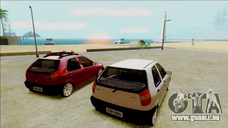 Fiat Palio EDX-Turbo Performance für GTA San Andreas linke Ansicht