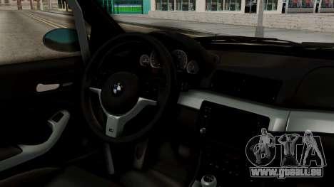BMW M3 E46 GTR 2005 Stock für GTA San Andreas rechten Ansicht
