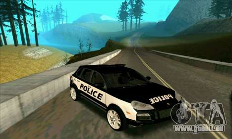 Porsche Cayenne Turbo S Federal Police für GTA San Andreas