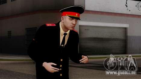 Vice-Sergent Kazan de l'École militaire Souvorov pour GTA San Andreas