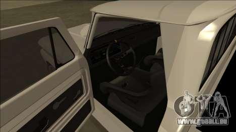 Chevrolet C10 Drift pour GTA San Andreas vue arrière