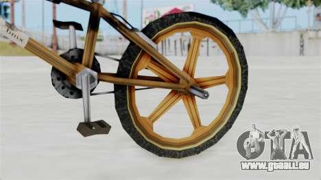 Retro BMX from Bully pour GTA San Andreas vue de droite