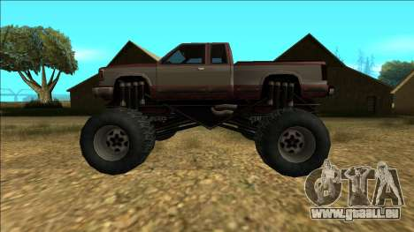 New Yosemite v2 Monster pour GTA San Andreas salon