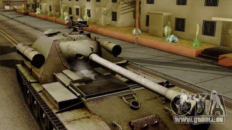 SU-101 122mm from World of Tanks für GTA San Andreas rechten Ansicht