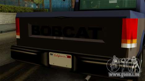 Bobcat from Vice City Stories IVF für GTA San Andreas rechten Ansicht